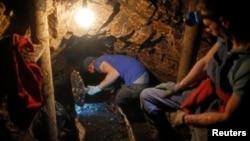 Ilegalni rudnik u blizini Viteza, ilustrativna fotografija