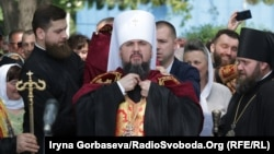 Олександрійський партіарх вперше згадав митрополита Православної церкви України Епіфанія (на фото) під час богослужіння