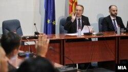 Седница на собаниската Комисија за надворешна политика.