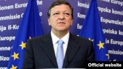 Претседателот на Европската комисија, Жозе Мануел Баросо