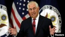 Госсекретарь США Рекс Тиллерсон (архивное фото)