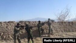 ارشیف، ارزګان کې افغان امنیتي ځواکونه د عملیاتو پر مهال