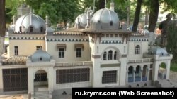 Макет дачи Стамболи в Бахчисарайском парке миниатюр