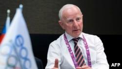 Kreu i Komitetit Olimpik Evropian, Patrick Hickey.