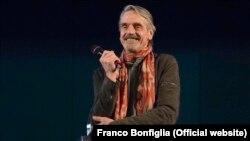 """Italy - Prize """"Premio Europa 201, Jeremy Irons, Rome"""
