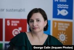 Daniela Vișoianu,președinta Coaliției pentru Educație
