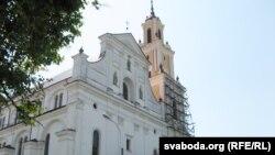 Пабэрнардынскі касьцёл у Горадні