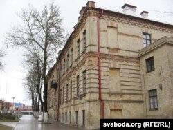 Будынак (цяпер на вуліцы Леніна), дзе было міністэрства беларускіх спраў Літвы