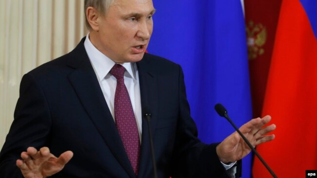 Vladimir Putin, Miskva, 17 yanvar 2017