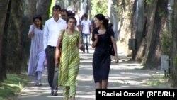 Хиёбони марказии шаҳри Душанбе
