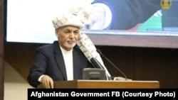 Претседателот на Авганистан Ашраф Гани