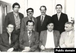 Ervin Ümerov zenaatdaşları ile