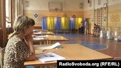 Під час голосування в Чернігові
