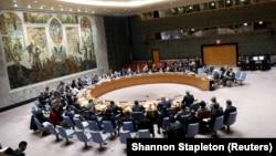 Заседание Совета Безопасности ООН (архив)