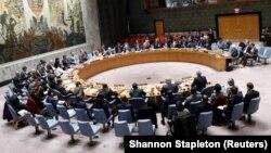 Заседание Совета безопасности ООН, архивное фото