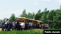 Урман авылы халкын эвакуацияләү