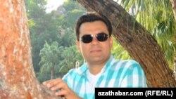 Известный туркменский бизнесмен Ресул Атагелдыев.