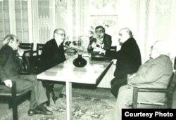 Anar, Yaşar Qarayev, Abbas Zamanov, Cavad Heyətlə...