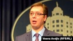 Zëvendëskryeministri i parë i Serbisë, Aleksandar Vuçiq.