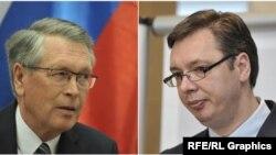 Aleksandar Čepurin i Aleksandar Vučić