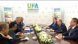 Уфа саммитлары алдыннан Путин аерым сөйләшүләр уздыра