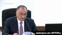 Заместитель мэра Еревана Камо Ареян