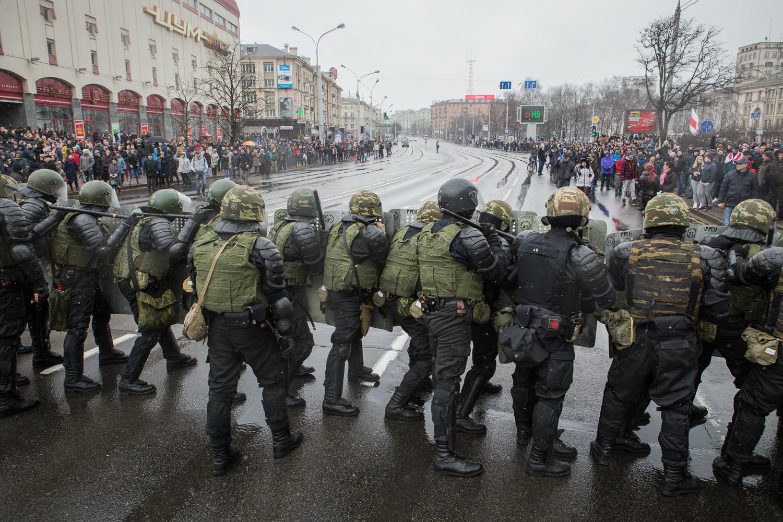Дзень Волі 25 сакавіка, Менск