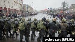 Дзень Волі ў Менску 25 сакавіка 2017 году