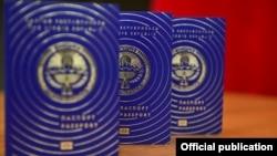 Жаңы үлгүдөгү паспорт.