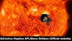 Художня концепція місії Parker Solar Probe