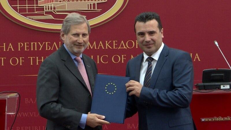 Han: Makedonija na čvrstom kursu prema EU