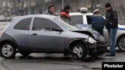 Ավտովթար Երեւանում, արխիվային լուսանկար