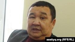 Сайын Абишев, председатель профсоюза предприятия «УОС-1». Жанаозен, 6 декабря 2013 года.