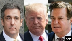 Michael Cohen, Donald Trump dhe Paul Manafort