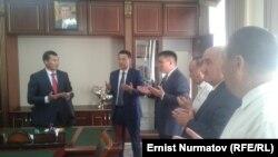 Узарбек Жылкыбаев, Замирбек Аскаров и Таалайбек Сарыбашев