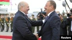 İlham Əliyev və Belarus prezidenti Aleksandr Lukashenka