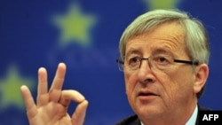 Luxembourg Prime Minister and Eurogroup leader Jean-Claude Juncker (file photo)