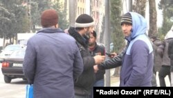Мардикорбозоре дар Тоҷикистон