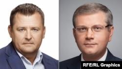 Кандидати на посаду мера Дніпропетровська Борис Філатов (ліворуч) та Олександр Вілкул