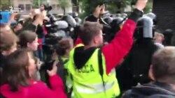 Задержание и оттеснение. Тактика ОМОНа 10 августа на митинге в Москве