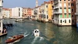 Прв венециски чамец со електричен мотор