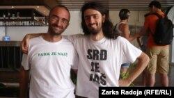 Miodrag Dakić iz Banjaluke i Ljubo Grgurević iz Dubrovnika na Zelenoj akademiji na Visu