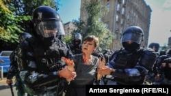 Над 350 са арестуваните по време на протеста в Москва
