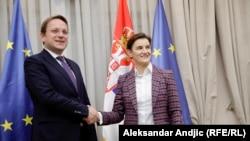 Susret evrokomesara i premijerke Brnabić