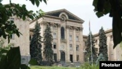 Armenia - The building of the National Assembly of Armenia, Undated