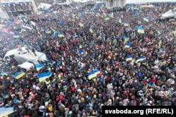 Евромайдан. 8 декабря 2013 года.