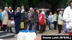 Mlekari iz protesta delili mleko, foto: Danica Gudurić