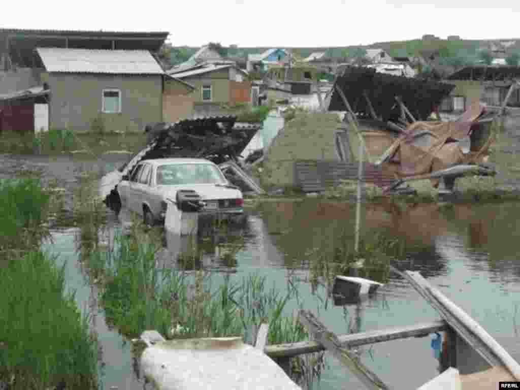 Разрушительное наводнение в Шаныраке #3