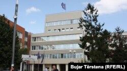 Ndërtesa e Kuvendit të Kosovës në Prishtinë