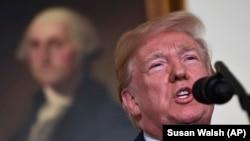 Президент США Дональд Трамп/